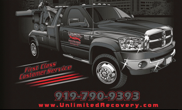 Towing in raleigh nc by unlimited recovery colourmoves